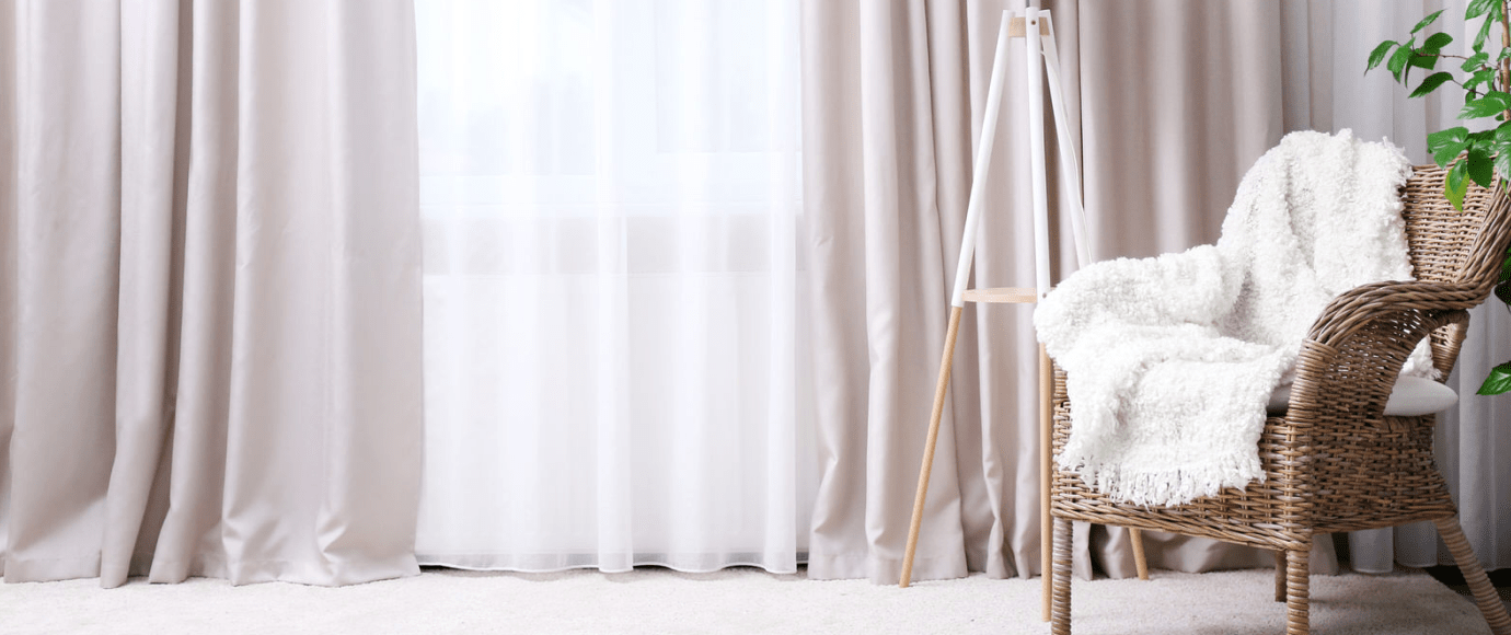 Основные этапы чистки штор