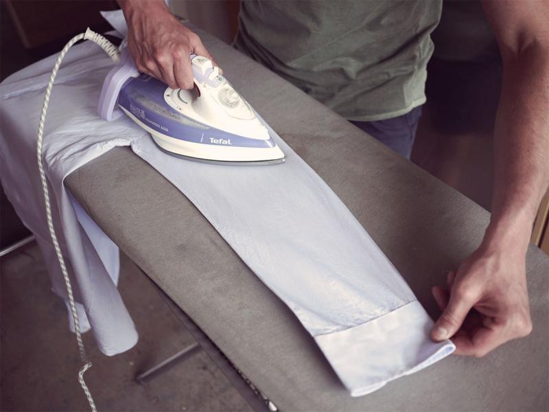Як правильно прасувати сорочку з бавовни